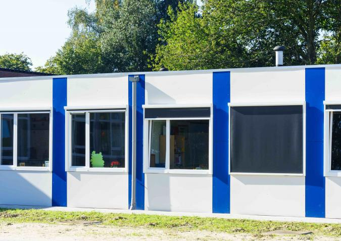 Sint-Gabriëlcollege modulair schoolgebouw EPB-conform